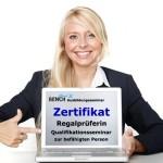 Schulung Zertifikat Regalprüfer
