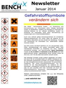 Newsletter 01.2014- Änderung Gefahrensymbole